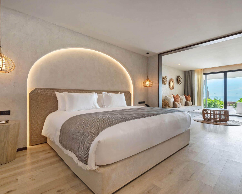 Beachfront mini suite