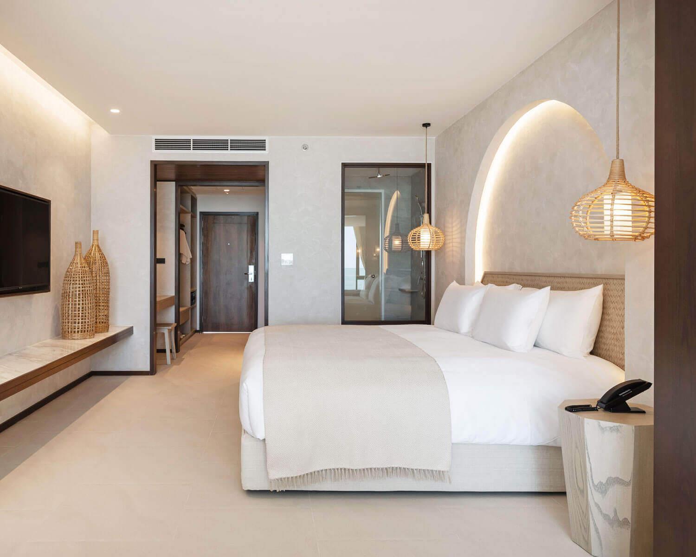Deluxe beachfront room