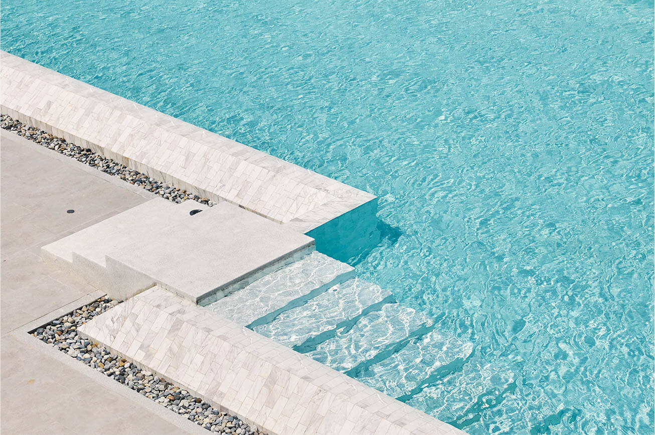 Swimming pools with a view